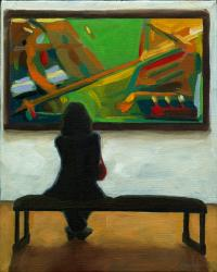 Contemporary Abstract - Woman in the Abstract