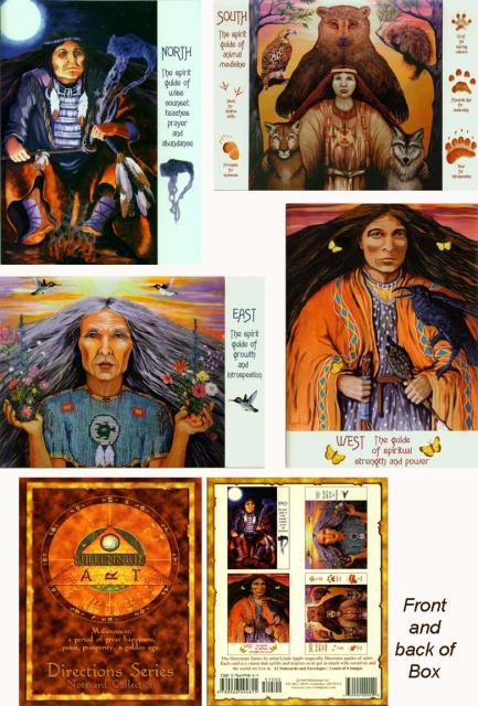 The Four Directions - Native American Gift Cards