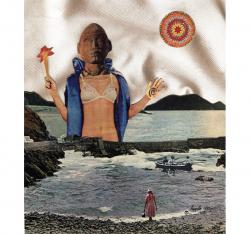 APHRODITE - surreal, fantasy original collage