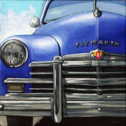 Vintage 50's PLYMOUTH car
