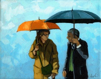 Awkward Moment - Umbrellas