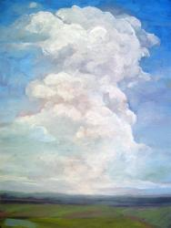 Beautiful Day large cloud landscape