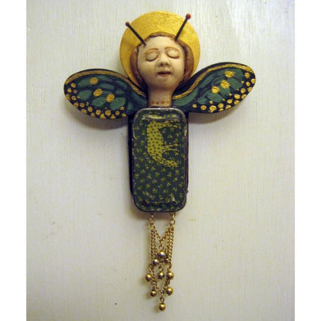 Butterfly Dreams - OOAK handmade wall sculpture assemblage