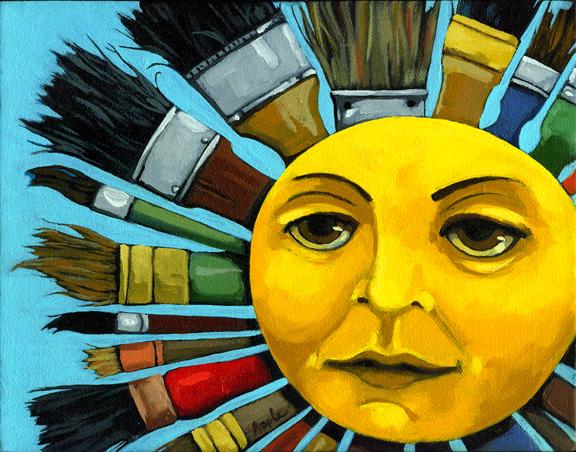 Sun Art CBS Sunday Morning - women artists