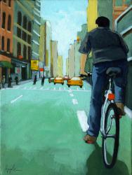City Ride - Bicycle Cityscape