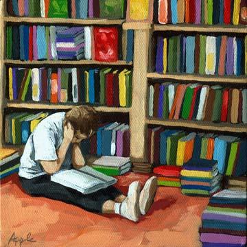 Colorful World of Books - bookstore