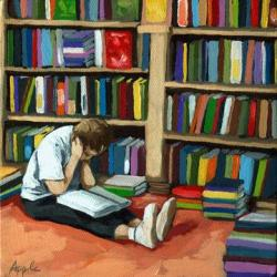 Colorful World of Books - bookstore