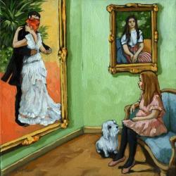 Daydream - Renoir Paintings