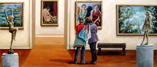 Friends - art museum series