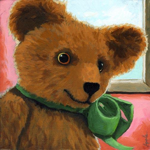Ellie - Anique Teddy Bear