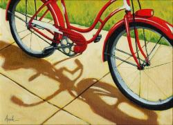Old Red Classic - bicycle