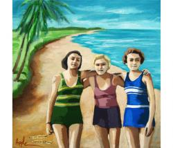 Forever Friends - women on the beach