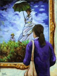 Woman & Monet