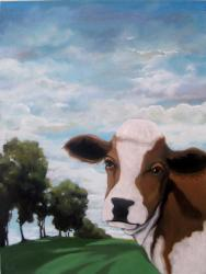 Moo'vin On - Contemporary Landscape