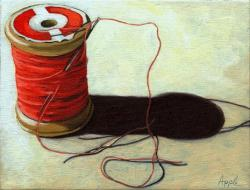Old Spool of Thread - Sewing Time