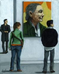 Over There- Contemporary Figurative painting