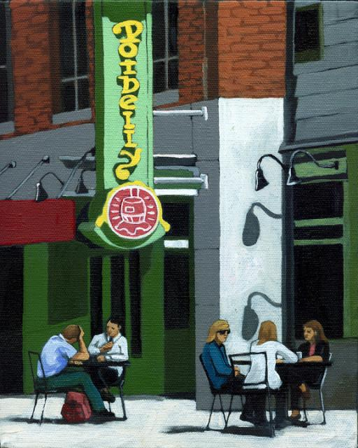 Potbelly's - Contemporary Figurative