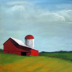 Red Barn country rural landscape