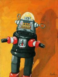 Lost in Space - robot still life