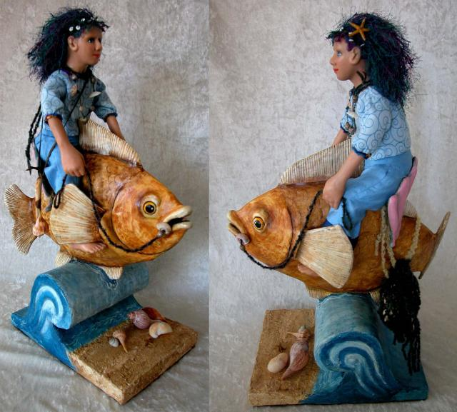 Selena & Gobi - Fishrider