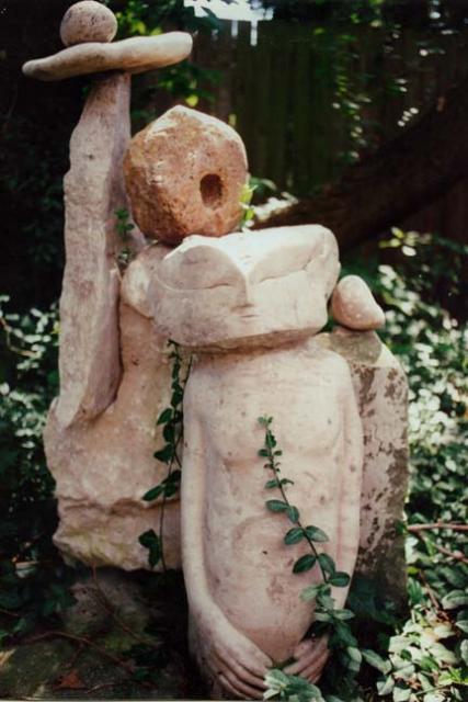 Beginning - stone circle sculpture