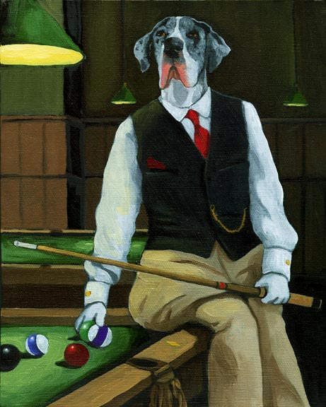 Great Dane - Billiards History