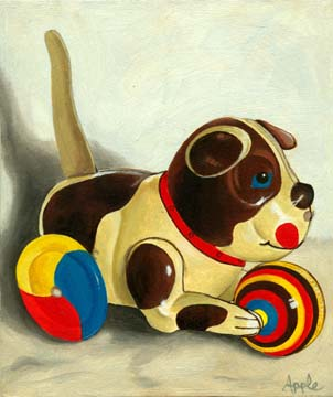 Wind Up Dog Toy