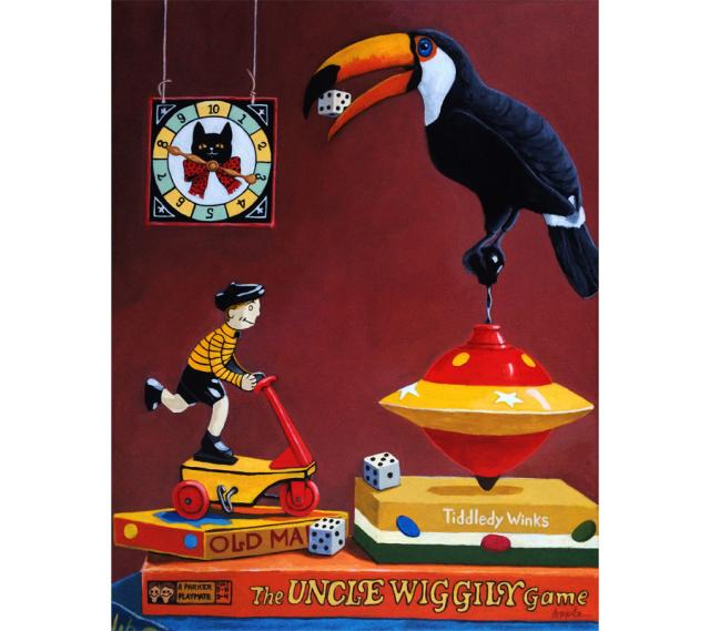 Toucan Play At That Game - realistic original large 16 x 20""